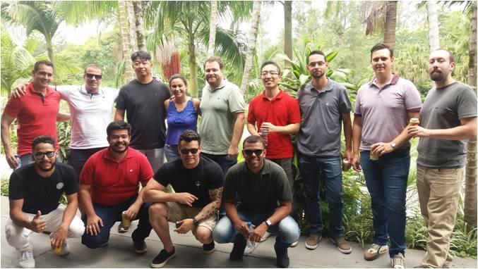 2017 - Parte do #time de Gerenciamento - Confraternização de Final de Ano