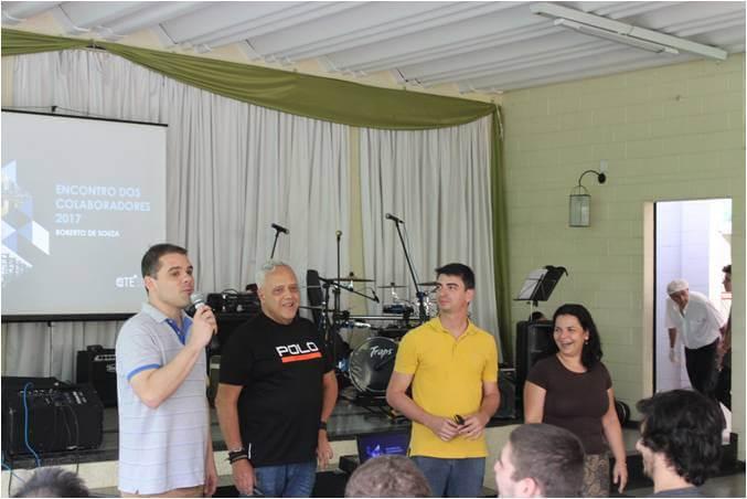 2017 - Fred, Comercial Sustentabilidade, Roberto, nosso CEO, Fábio Massaini, Gerenciamento, Júlia Straforini, Gerenciamento - Encontro de Colaboradores