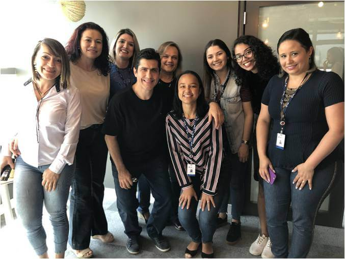 2019 - nosso #time de RH, Administrativo & Financeiro - Café da manhã dos aniversariantes