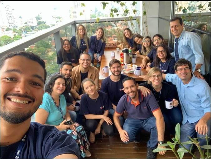 2019 - Time de Gerenciamento - Reunião na Varanda