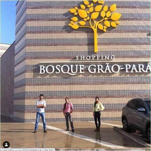 2015 - Renato, Olivia e Beatriz - Projeto Shopping Bosque Grão-Pará LEED Silver