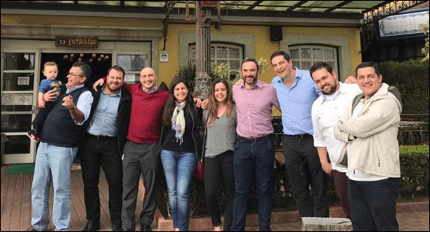 2019 - Rocontec, Related e Sispar - Celebrando! Almoço com cliente!