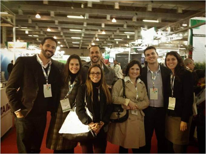 2012 - Time de Sustentabilidade e parceiros - Greenbuild São Francisco