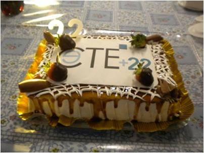 2012 - Celebração dos 22 anos de CTE