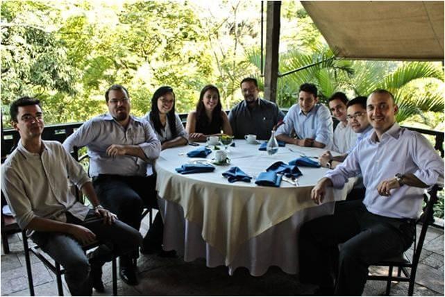 2011 - Equipe de Gerenciamento - Almoço de confraternização