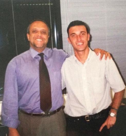 """Roberto de Souza com Giancarlo De Filippi, nosso Diretor de Gerenciamento. Na foto, Gian ainda era um """"novo integrante"""" no time"""